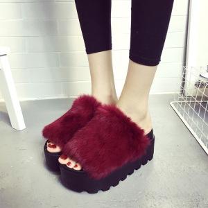 Real-fur-shoes-woman-flip-flops-2016-winter-design-font-b-slippers-b-font-plush-font